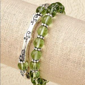 Jewelry - Birthstone stretch August bracelets